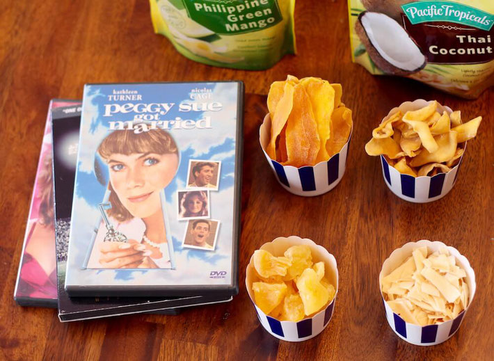 When Netflix and chill strikes, you'll want one of these snacks! These healthy movie night snacks will satisfy your sweet tooth. They also work as girls' night snacks & healthy snacks for kids' lunch boxes.  #healthysnacks #moviesnacks #kidapprovedsnacks