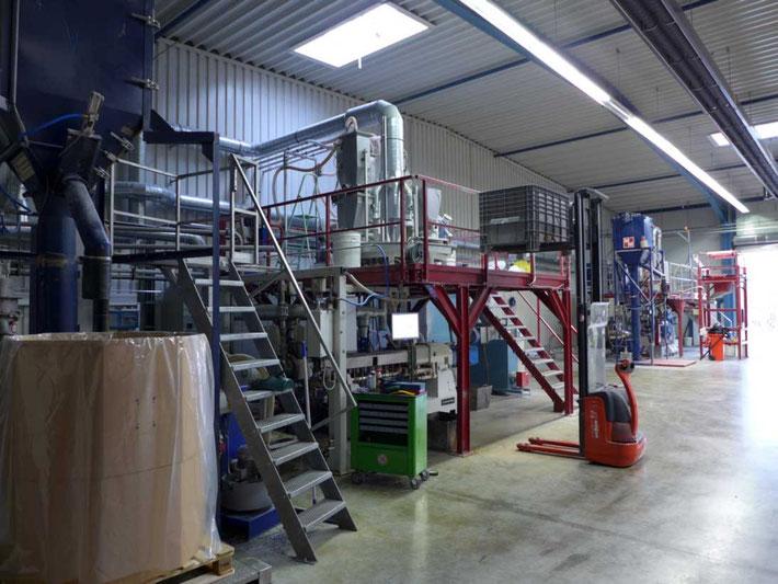 Exipnos GmbH, Merseburg: Fertigungsstrecke. Foto: © Exipnos 2015