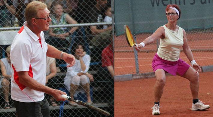 """ein """"Gemischtes Einzel"""" - Tennisspielen für Eheleute, wie es sein mag, aber nicht unbedingt sein soll"""