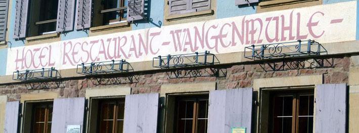 Restaurant Wangenmühle - Wangen Alsace