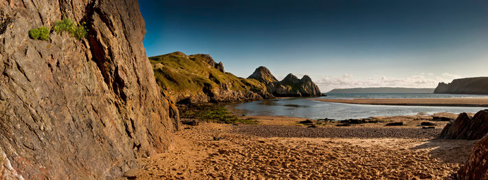 Three Cliffs Bay, Wales, Cymru