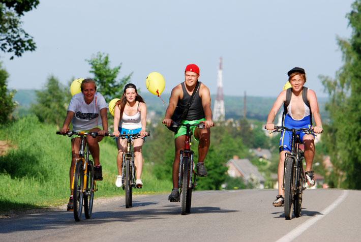 """Kuldygoje kasmet rengiamas nekomercinis dviračių festivalis """"Velodiena ir velonaktis"""" / Foto: Artis Gustovskis"""