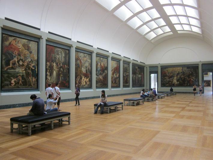 der Rubens -Saal, Musée du Louvre
