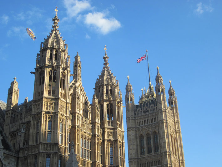 House of Parliament, Westminster palace