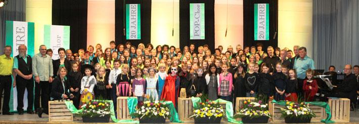 Jubiläumskonzert 2015 zum 20jährigen Bestehen