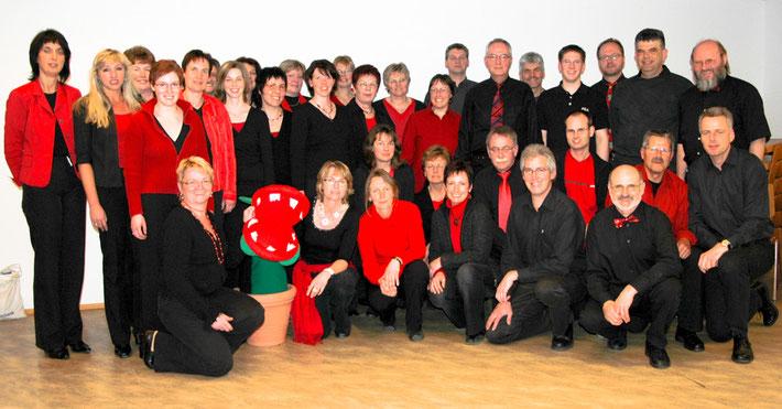 Darsteller des Pop-Chors 2007