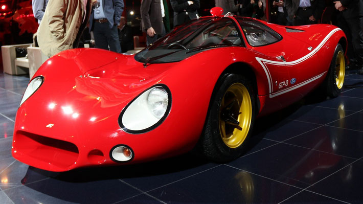 GTP-13 - privately built successor of the historic Ford P68 F3L