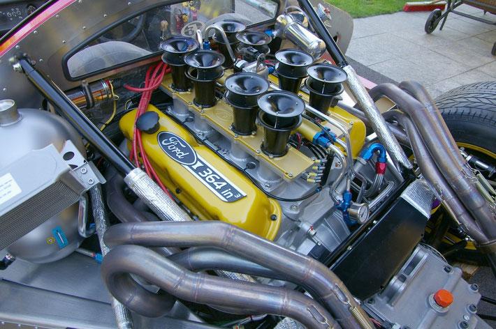 Ford 302 Windsor small block EFI slide throttle