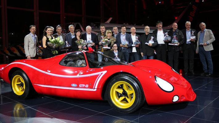 """Die Ehrengäste. Foto mit freundlicher Genehmigung von Wolfgang M. Buchta, Editor """"Austro Classic"""""""