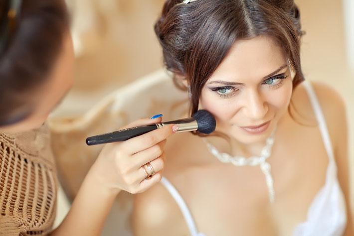Maquillage mariée;Maquillage soir;Maquillage jour