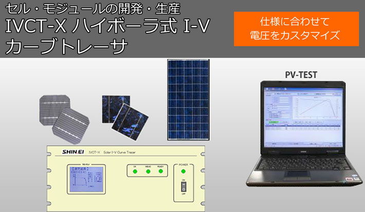 太陽電池のセル・モジュールの開発・生産
