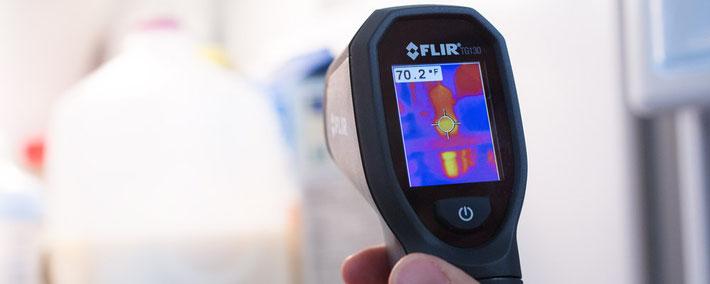 サーマル放射温度計ミニ TG130