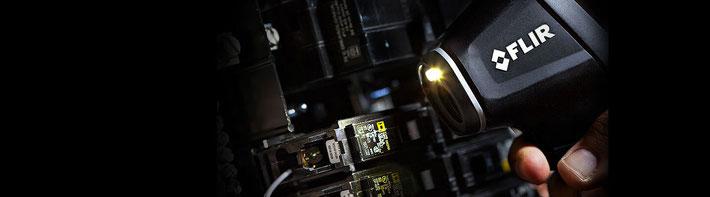 非接触式スポット放射温度計 TG54/TG56