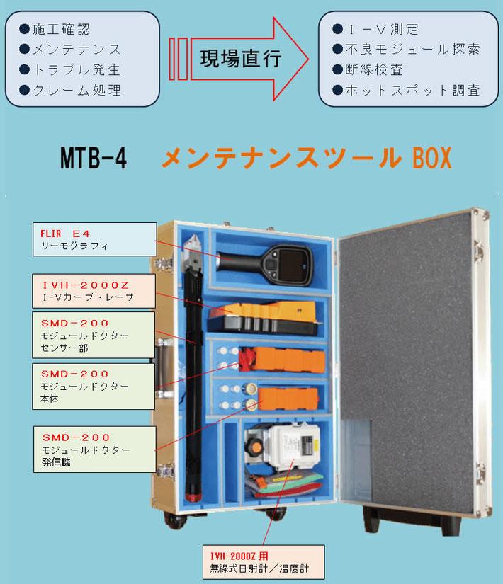 太陽光発電システムの動作確認ツールボックス