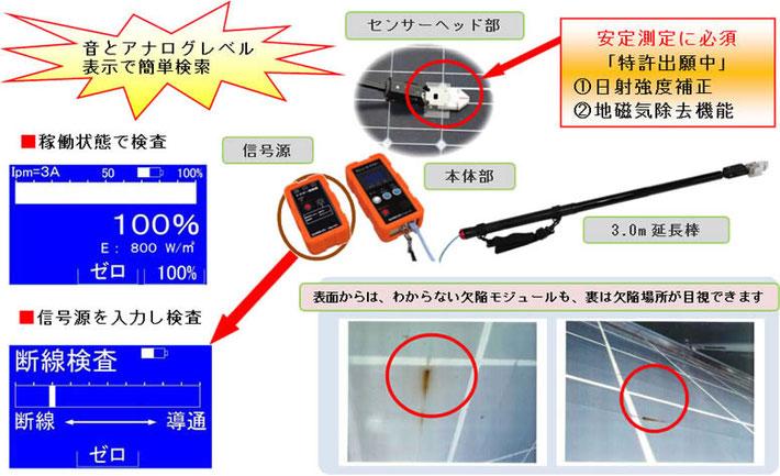 断線検査信号源付きのモジュールドクター