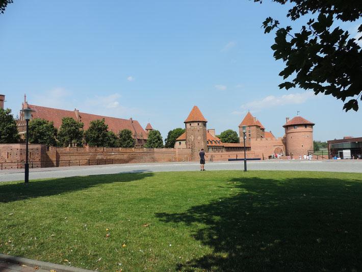 Heute steht eine Besichtigung der Marienburg auf dem Programm!