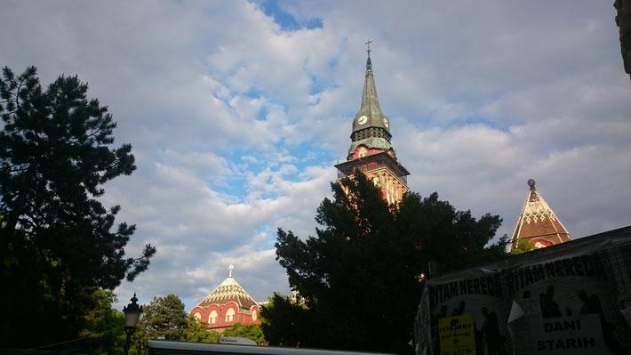 Subotica hat uns richtig gut gefallen, aufjedenfall einen Ausflug wert.