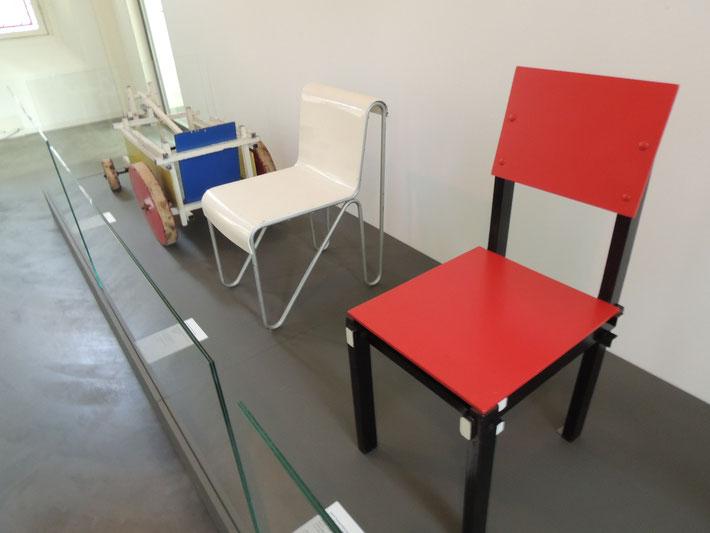 Rietvelds Stühle, Miniaturstühle, Miniaturen