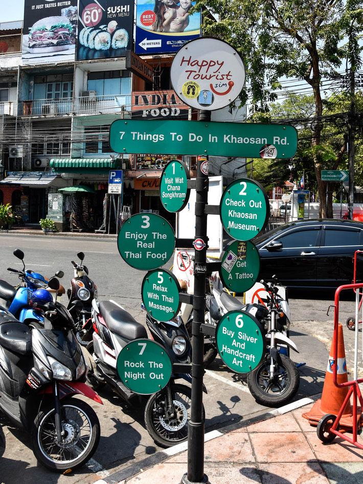 Bangkok MartinMatok.com Thailand Reise Fotograf Khaosan 10 was ich machen muss, wenn ich in Bangkok bin