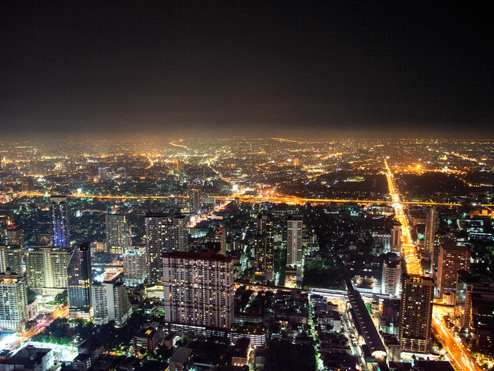 Bangkok, Thailand,  Fotografie, Photography, Reise, Russelsheim am Main, Rüsselsheim, Hessen, Fotograf, Tagesbuch, Asien, Nacht, Strasse
