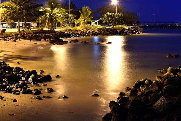 Beach Strand Reise Fotograf Thailand Nacht