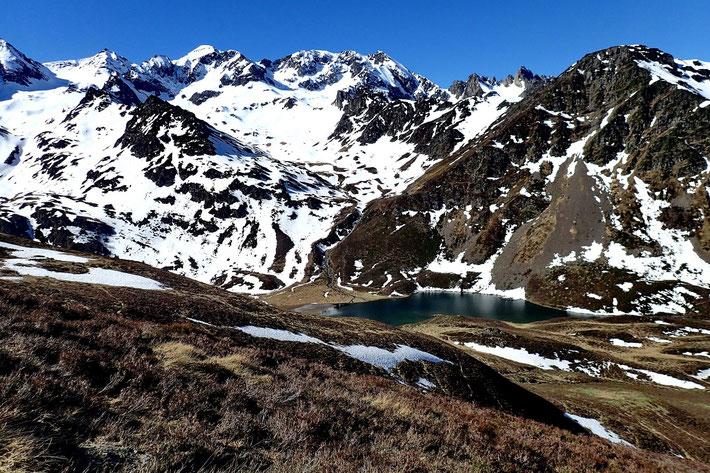 Le Lac d'Isaby toujours aussi beau...