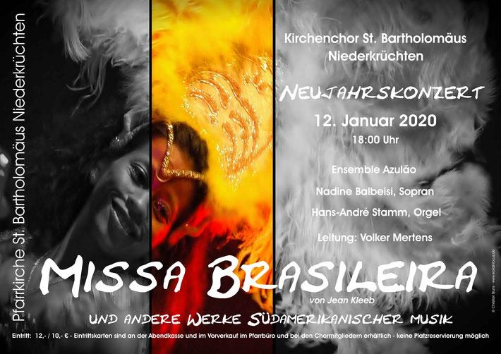 Neujahrskonzert - Missa Brasileira am 12.01.2020 in Niederkrüchten