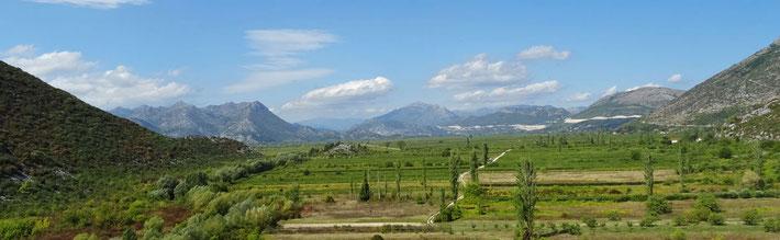 Fruchtbares Tal kurz vor Ploce.