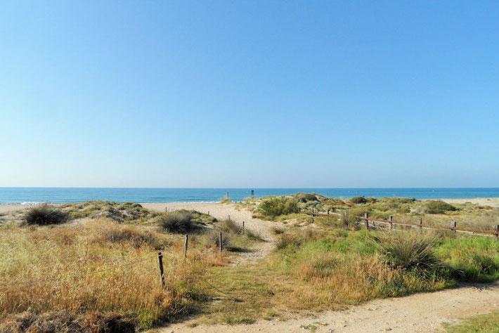 Strand bei Creixell Spanien