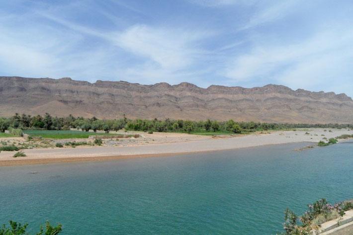 Draa Tal zwischen Quarzazate und Zagora Marokko