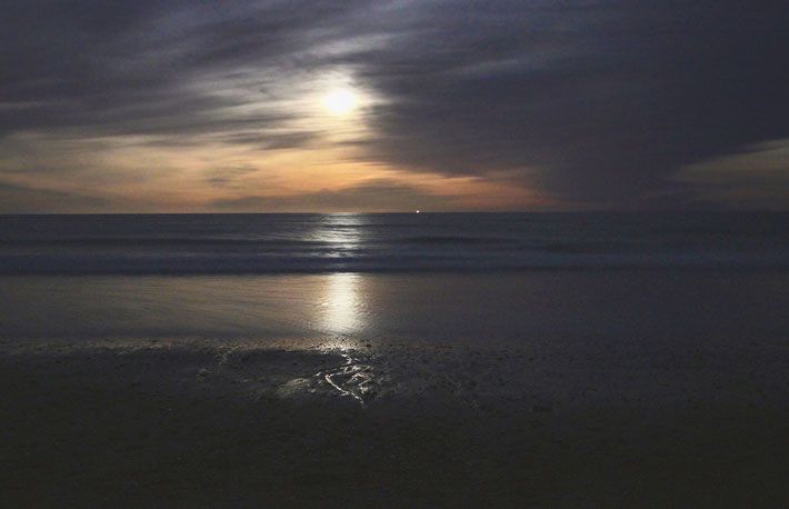Moon Glow, Nauset Beach