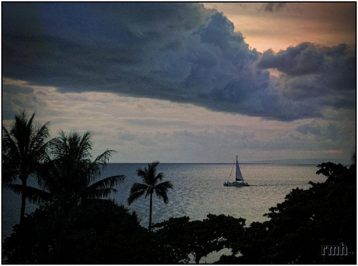 Morning hour at Ka'anapali, Maui, HI