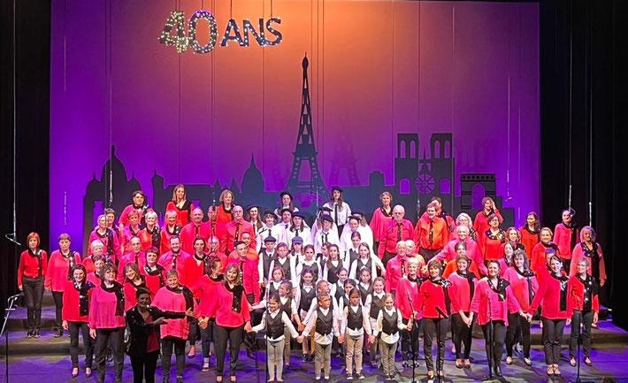 Final du spectacle de l'Astragale 2018 au théâtre de Bourg en Bresse