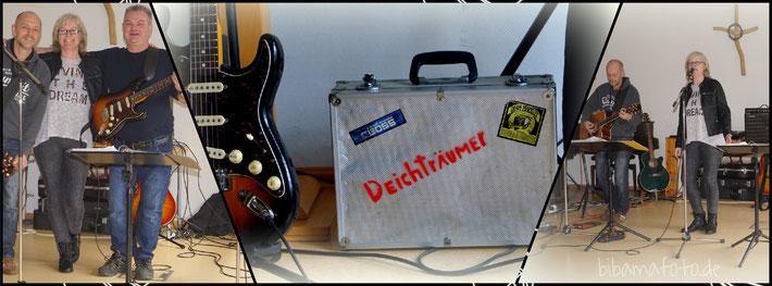 """Musikalische Einstimmung mit den """"Deichträumern"""" ..."""