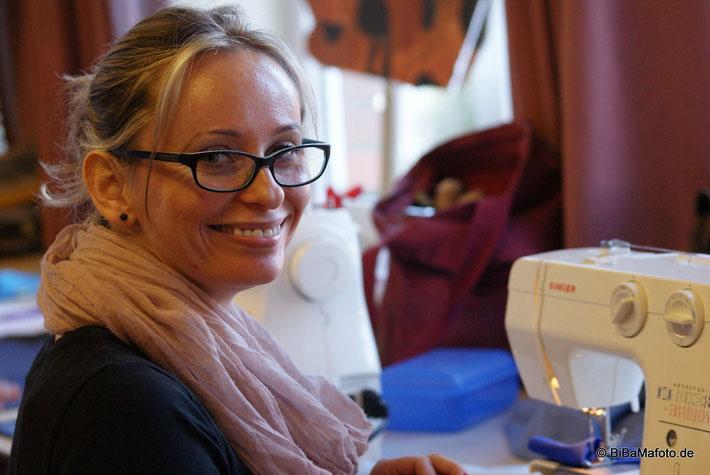 Die Kursleiterin Sylwia Malszycka freut sich über soviel Zuspruch ...