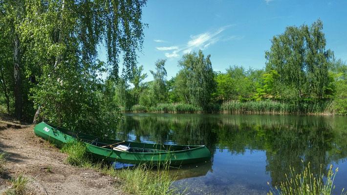 Paddlo am Kanal