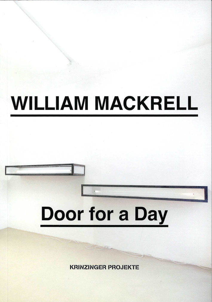 William Mackrell Buch / book (Catalogue)