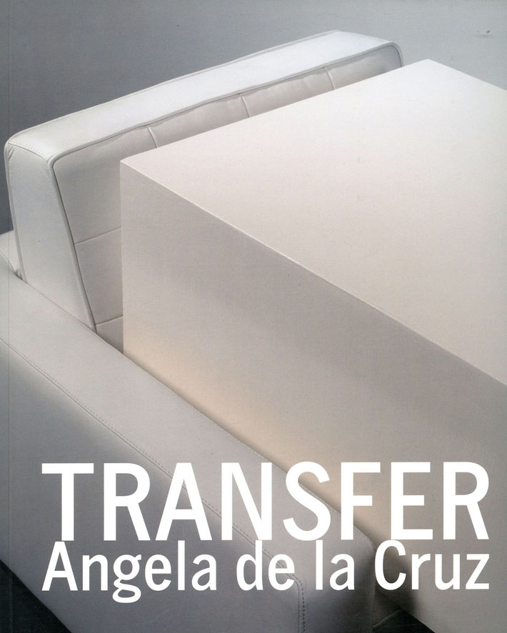 Buch / Book: Angela de la Cruz - Transfer. ISBN 978-0-947830-27-4