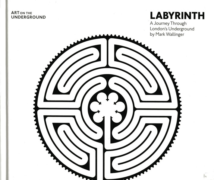Buch / Book: Mark Wallinger, Labyrinth, A Journey through London's Underground, London 2014. ISBN 978-1-908970-16-9