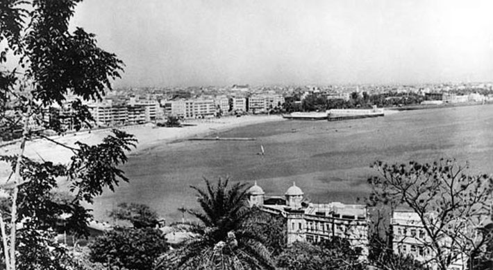 View of Bombay from Malabar Hills