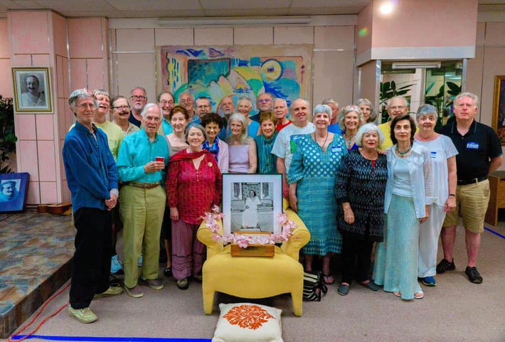 May 5th, 2019 : Group photo of some of the 1969 East Coast Darshan participants at the Circle Center. Photo taken by Anthony Zois.