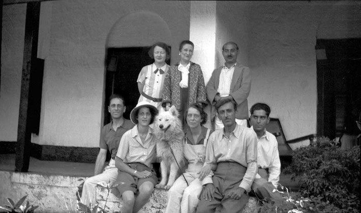 MSI Collection ; India - Malcolm is on the far left seated
