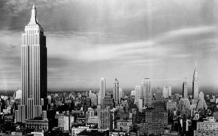 1930s : Empire Sate Building, New York City