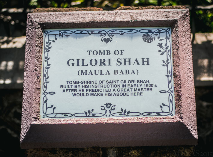 2017 ; Signage plaque at his tomb