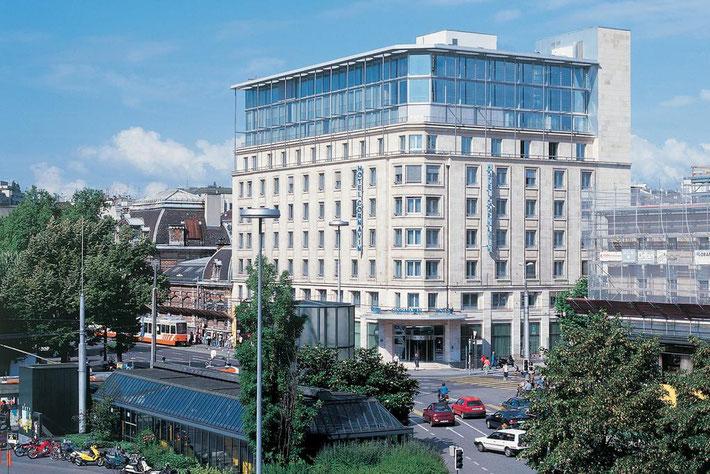 Present day Hotel Cornavin, Geneva.