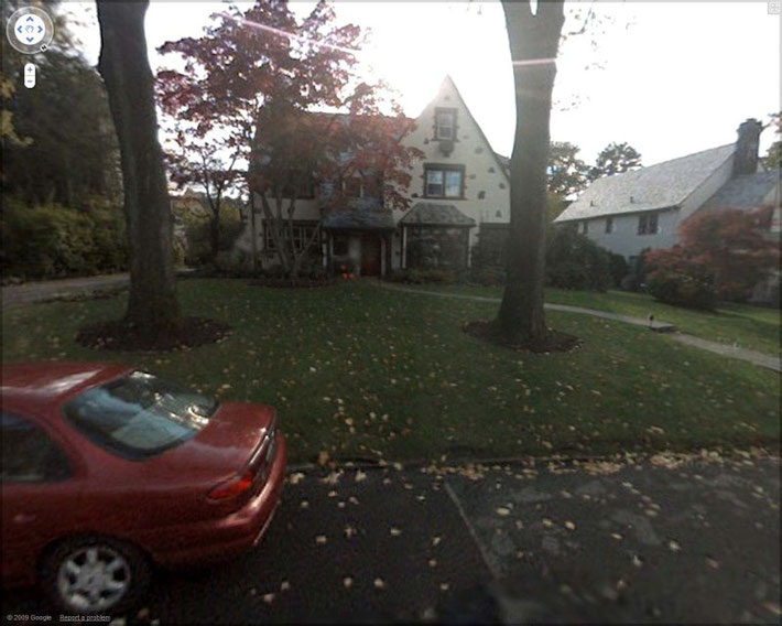 Courtesy of  Google Street View