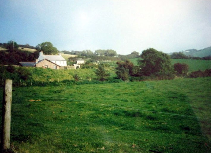 EAST CHALLACOMBE FARMHOUSE ; 2010. Photo taken by Eric Tepermen