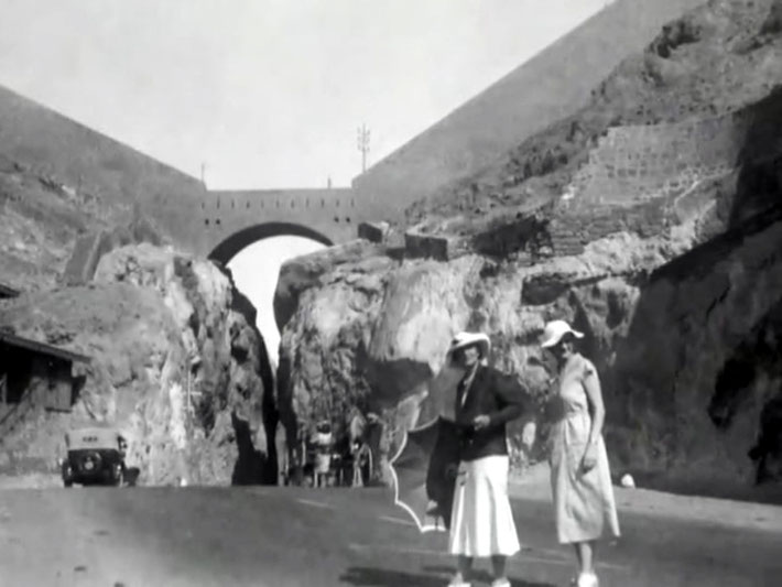 "April 1933 : Vivenne ( right ) is with Norina Matchabelli at Murree, India ( now Pakistan ). Image is from the video ""I am the One Reality"" ."
