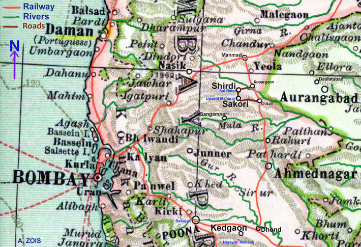 1902 Map showing 4 of the 5 Perfect Masters locations. Map graphics by Anthony Zois.