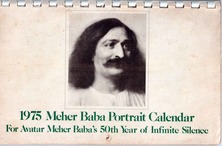 Published by the Meher Baba Group of Weston, Mass.  Printed by Sheriar Press